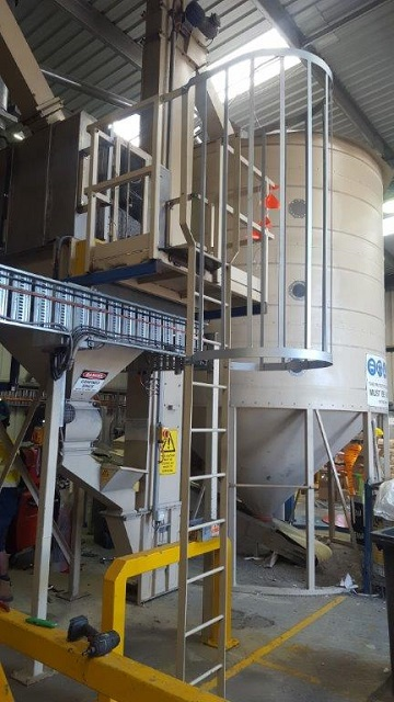 Cage Ladders Safe Access Equipment